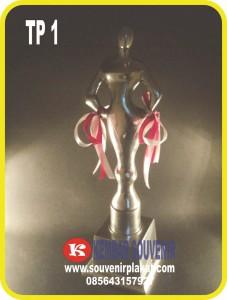 trophy timah, bikin piala,buat piala