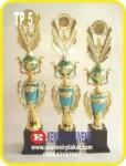 Buat Plakat Trophy Acrylic | Kuningan | Timah | Alumunium