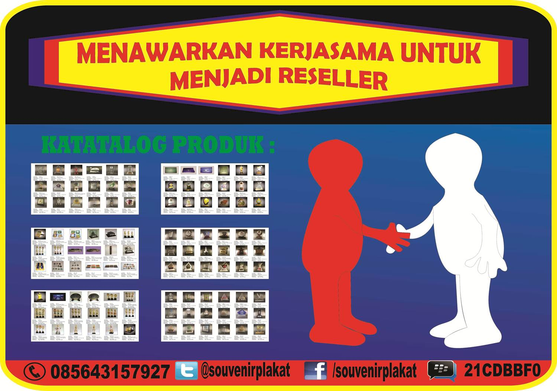 pusat souvenir, plakat acrylic