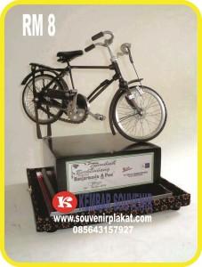 miniatur sepeda, gambar sepeda ontel, harga miniatur sepeda