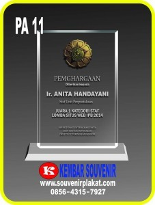 Plakat Akrilik Surabaya | Harga Jual Souvenir Acrylic