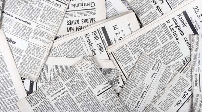 Beberapa Kreasi Kerajinan dari Koran Bekas