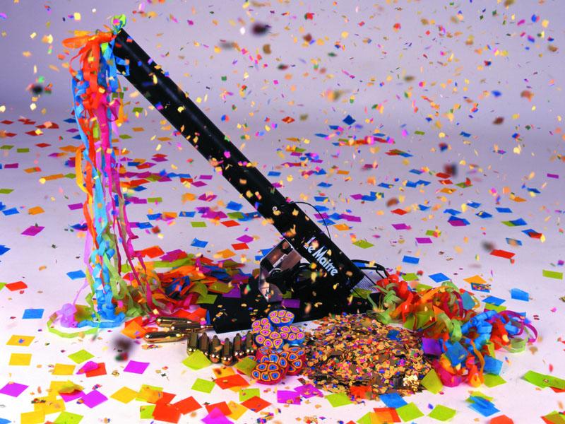 Пушка из конфетти своими руками 716