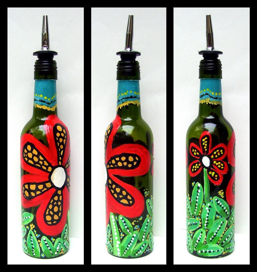 Kerajinan dari Botol Bekas