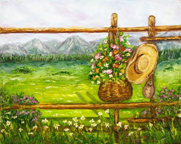 Lukisan dari Kayu