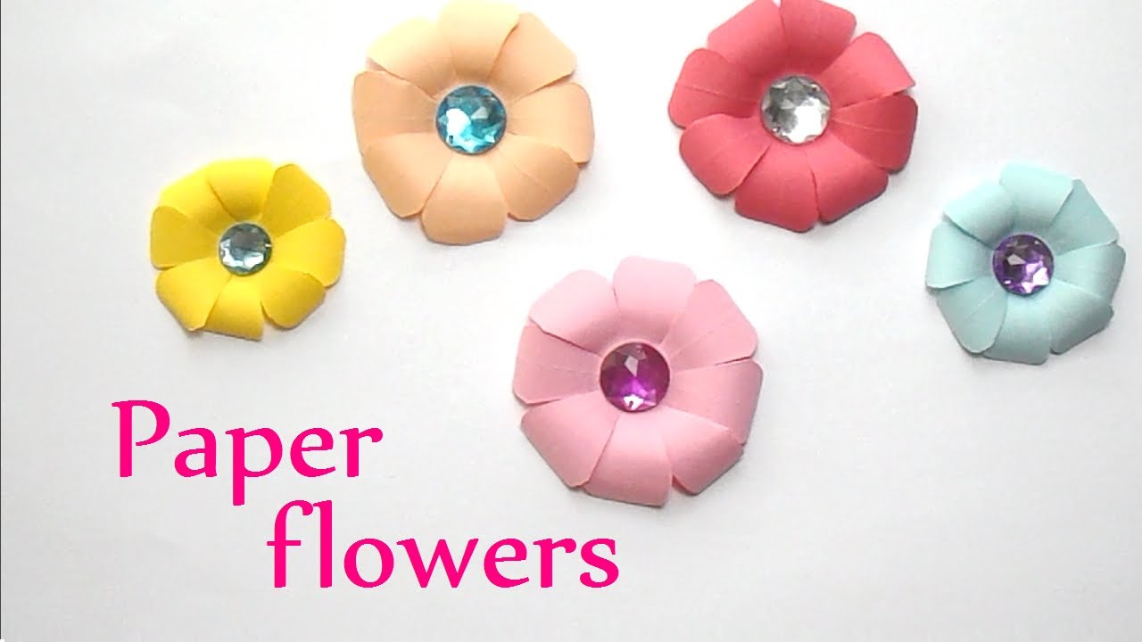 How to make a small paper flower images flower decoration ideas how to make a small paper flower images flower decoration ideas how to make a small mightylinksfo