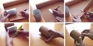 kerajinan tempat pensil, cara membuat tempat pensil dari kain flanel, tempat pensil dari botol bekas