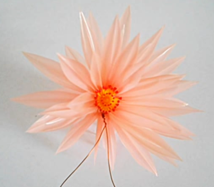 Bunga Teratai Sedotan