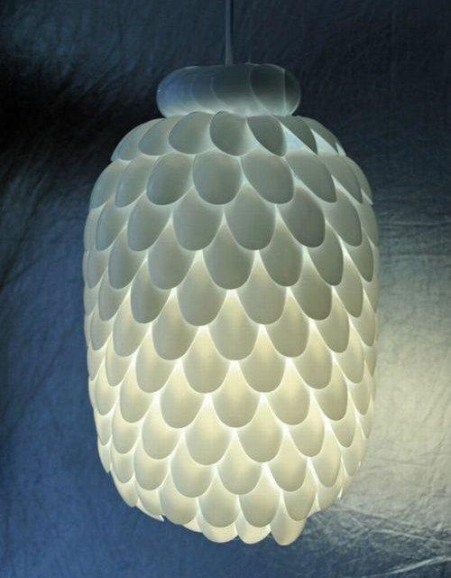 Lampu Botol dan Sendok Plastik