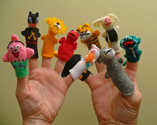 Membuat Boneka Jari