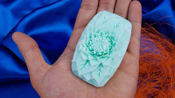 Sabun berbentuk bunga - Papasemar.com