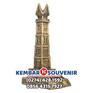 Miniatur Rumah Adat Jam Gadang, Lampung, Jambi