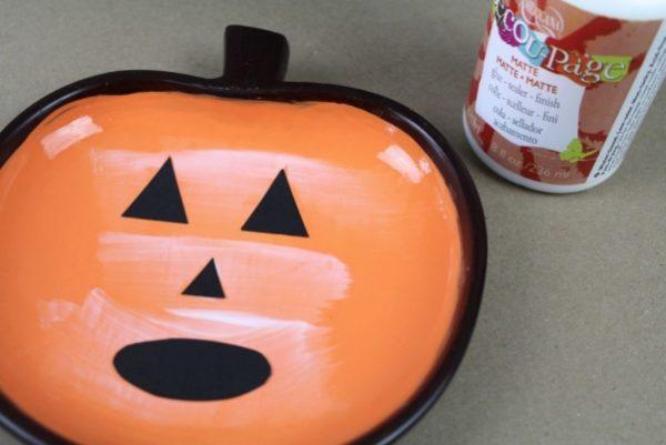 Tutorial Cara Membuat Labu halloween - DIY