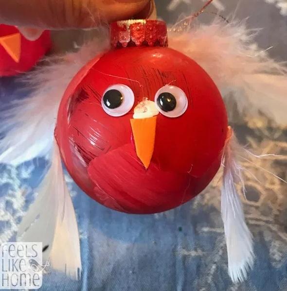 Souvenir Ornamen Burung Lucu - Kerajinan Natal untuk Anak