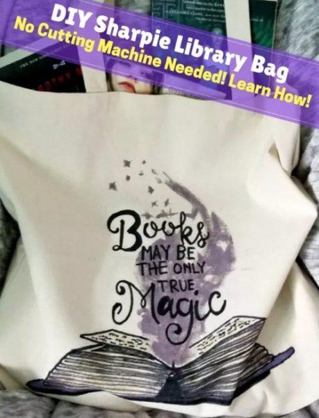 DIY Menghias Tote Bag dengan Kanvas Pensil