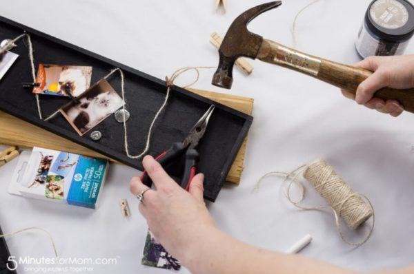 Cara Membuat Bingkai Foto Kolase di Papan tulis