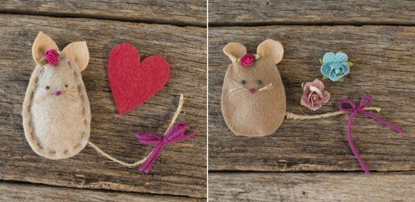 Tutorial Cara Membuat Souvenir Flanel Tikus Lucu