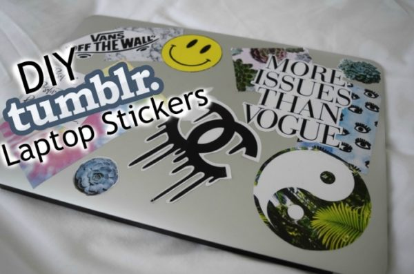 5 Kerajinan Stiker DIY Menyenangkan